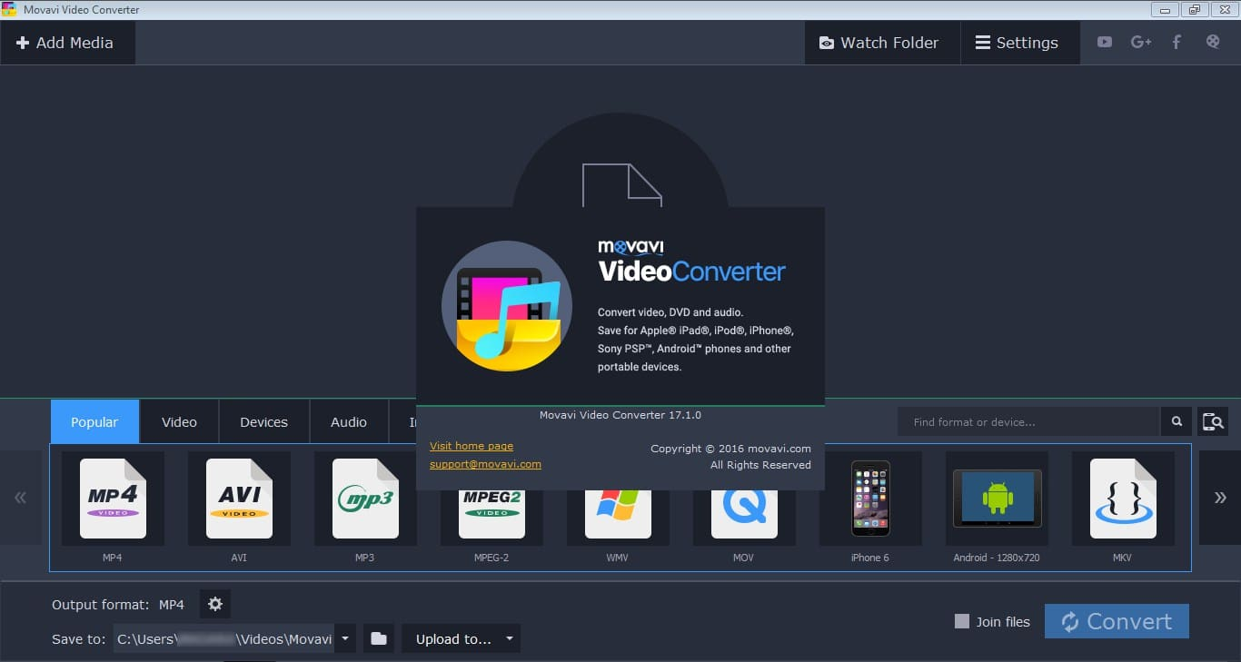 Movavi Video Converter 18.0.0 Crack torrent