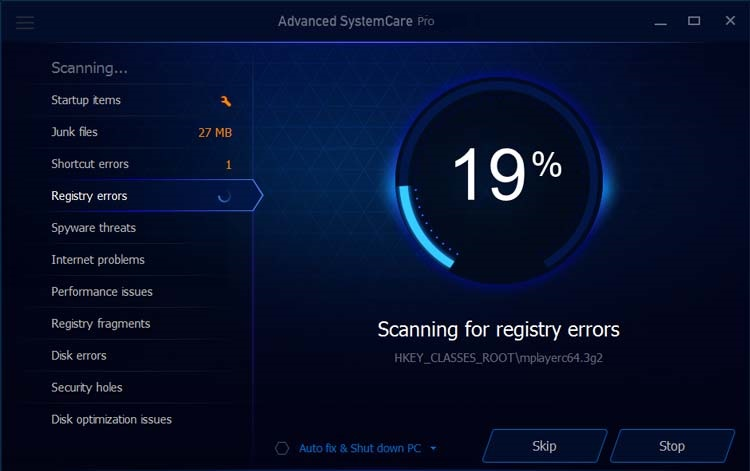 advanced systemcare serial number 11