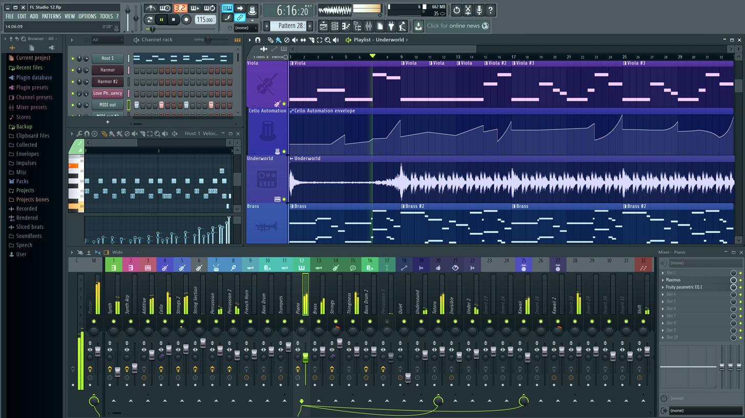fl studio 11 full crack 32 bits