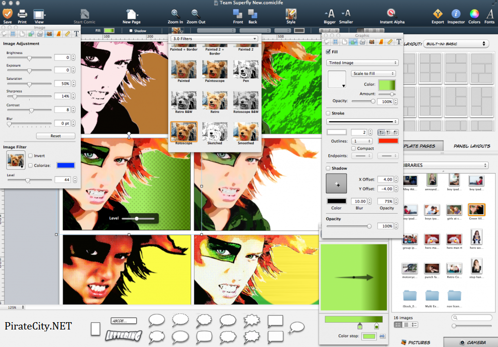 Comic Life 3.5.6 Pre - activated edition torrent