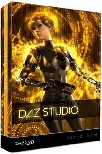 DAZ Studio Pro + addons torrent download