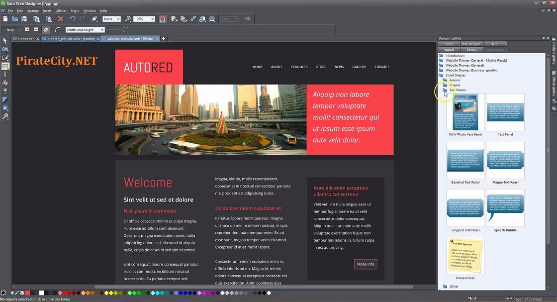 Xara Web Designer patch