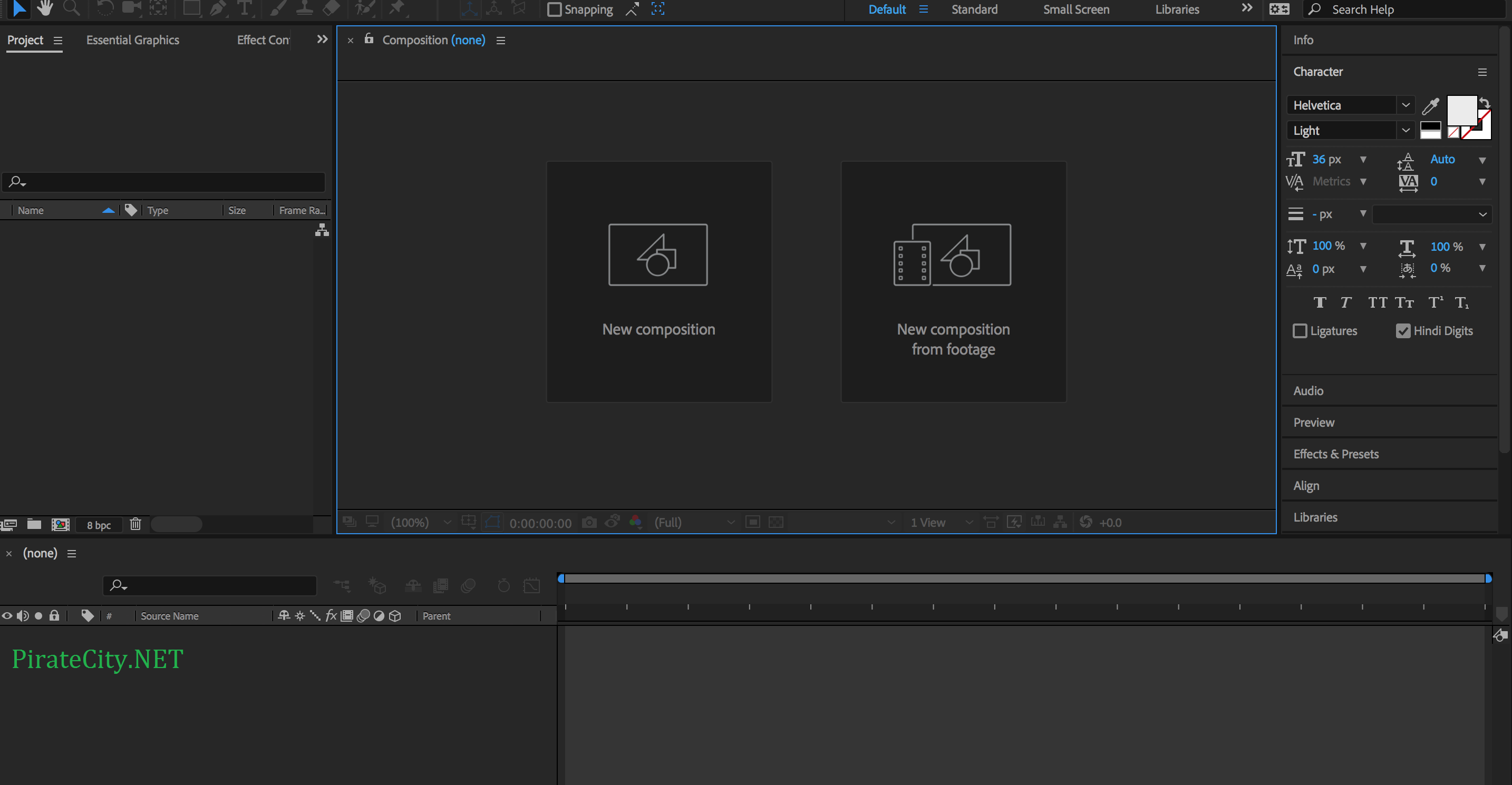 Adobe After Effects CC 2018 torrent