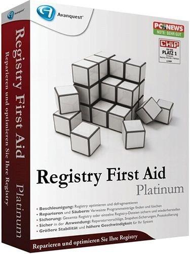 Registry First Aid Platinum Crack download