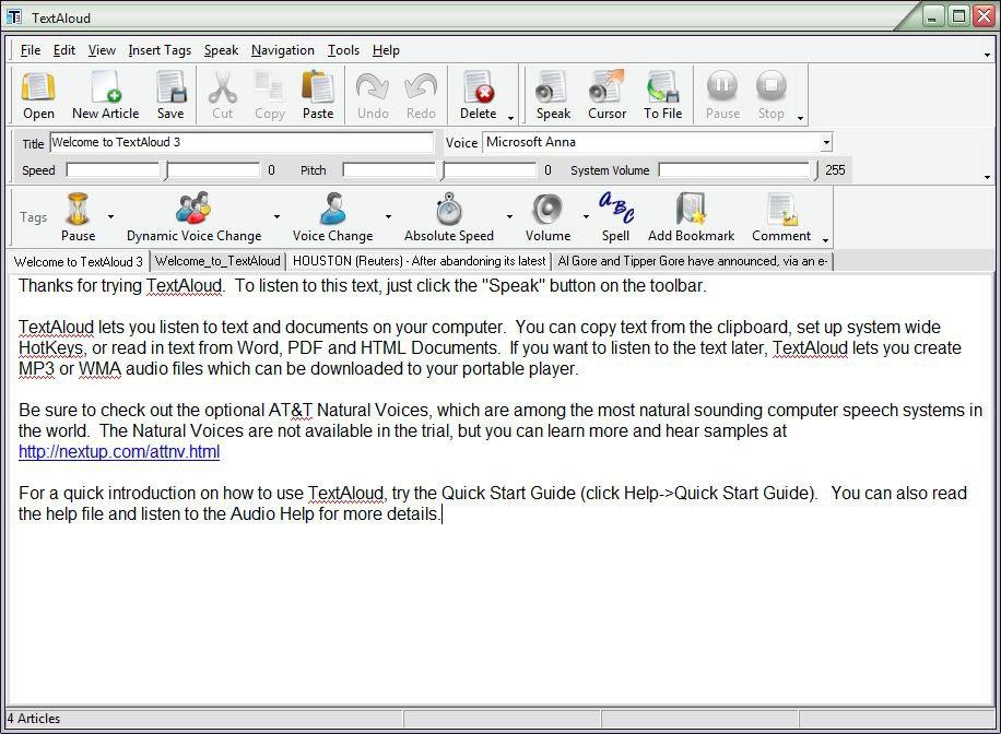 NextUp TextAloud patch