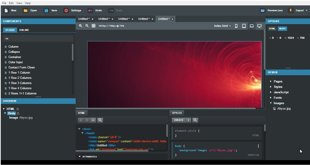 bootstrap studio 2.7 free download