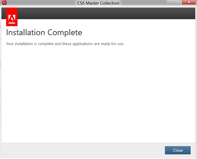 Adobe CS6 Master Collection With Crack (Patch)