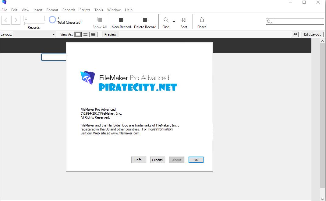 FileMaker Pro 17 Advanced full version