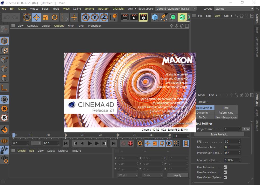 MAXON CINEMA 4D Studio R21 free download