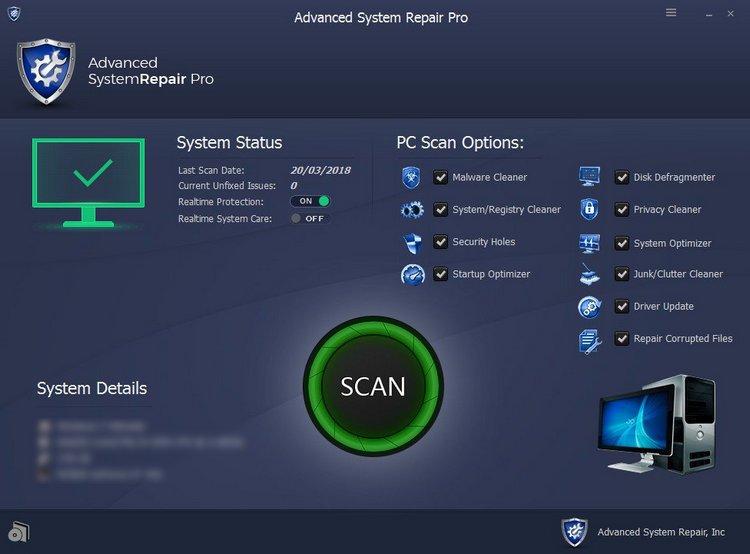 Advanced System Repair Pro free download full torrent