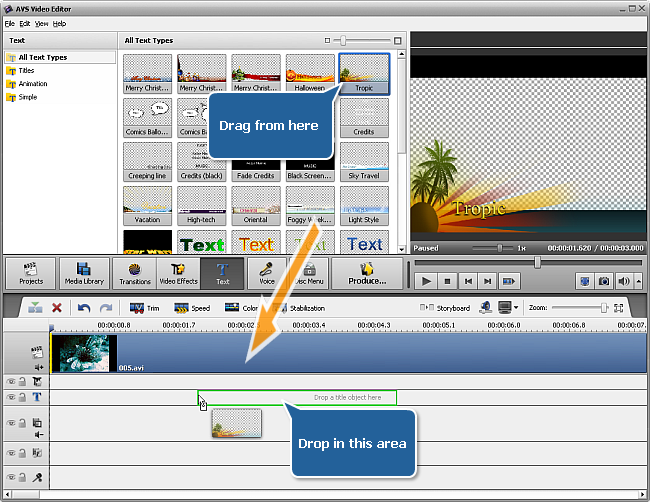 AVS Video Editor 9.4.1 With Crack